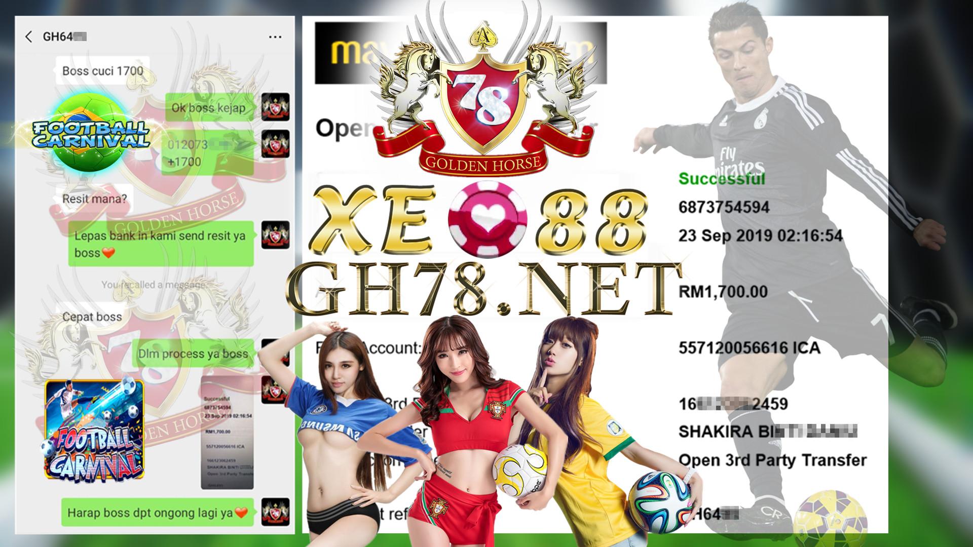 MEMBER MAIN FOOTBALL FT.XE-88 CUCI RM1700 ~~