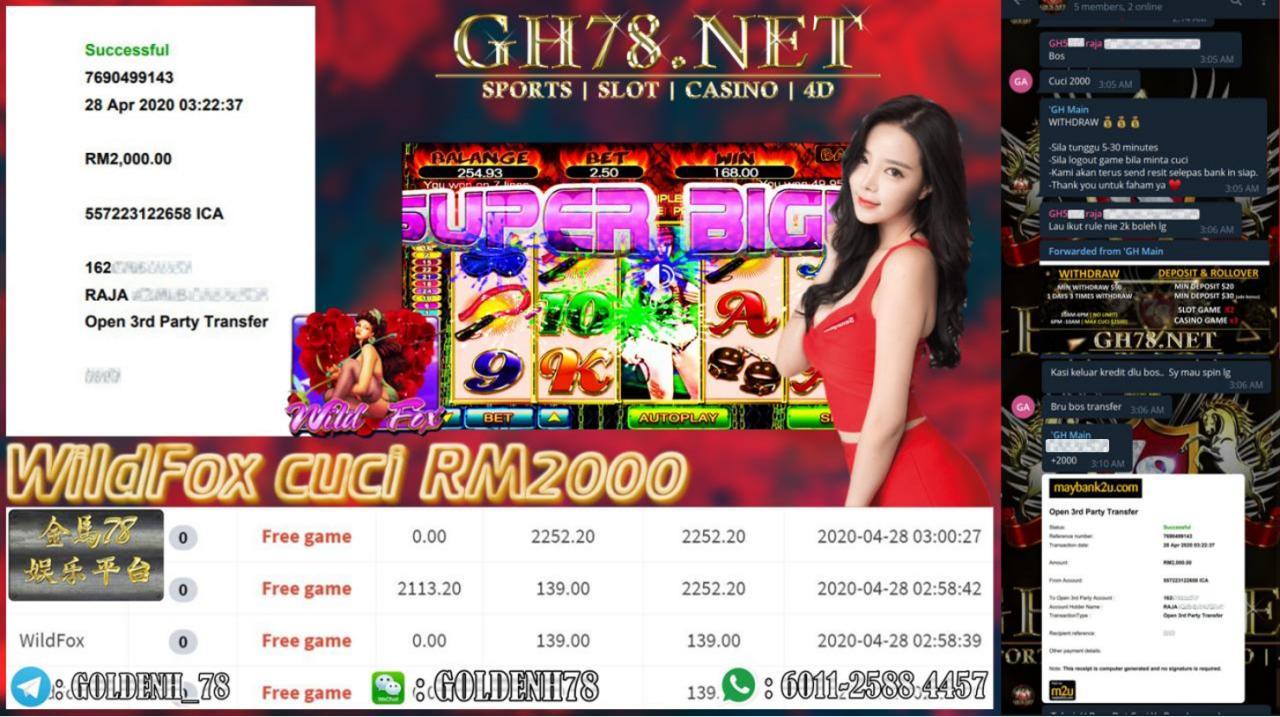 MEMBER MAIN WILD FOX CUCI RM2000