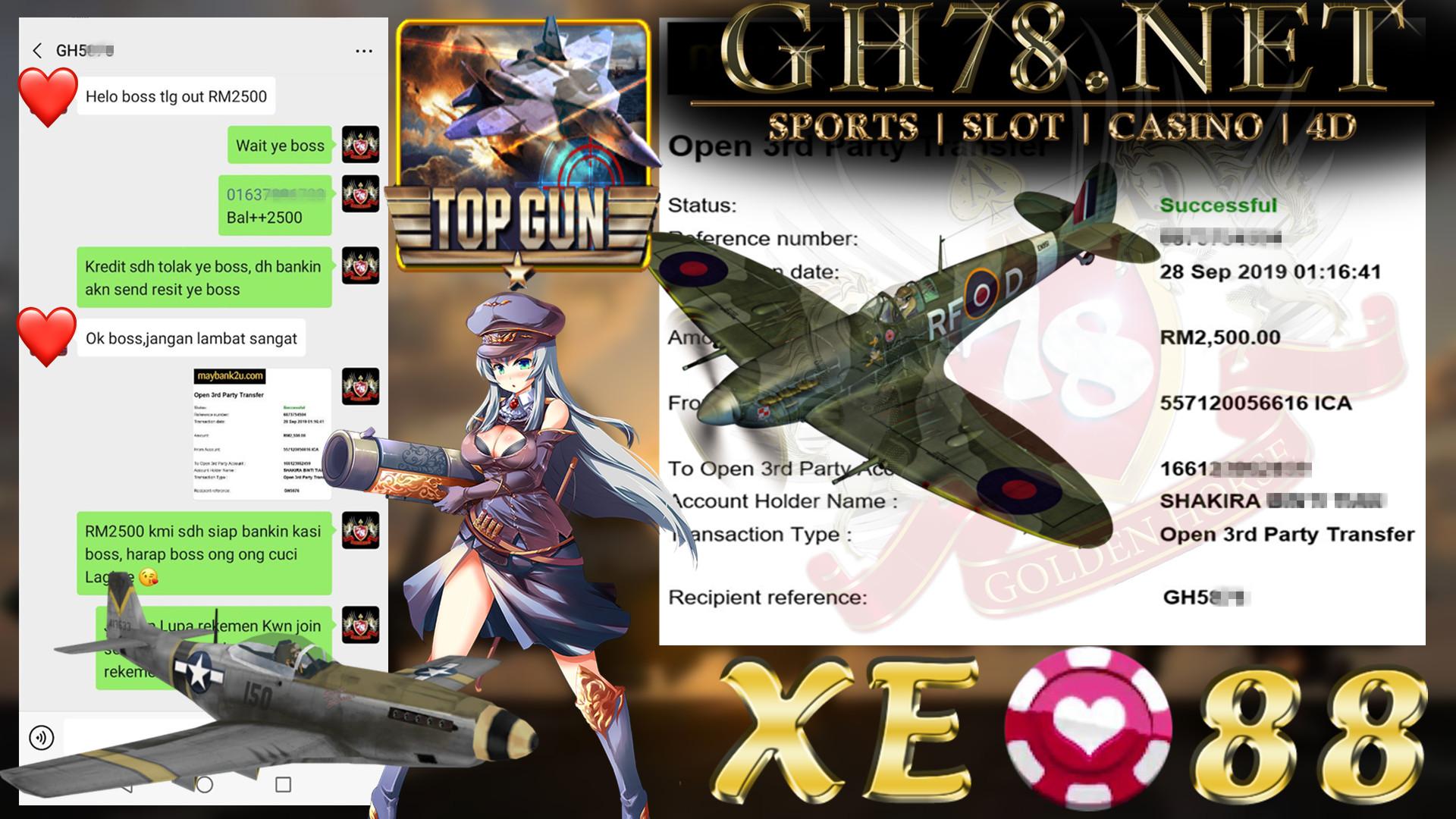 MEMBER MAIN XE88 FT.TOP GUN CUCI RM2500 ~~