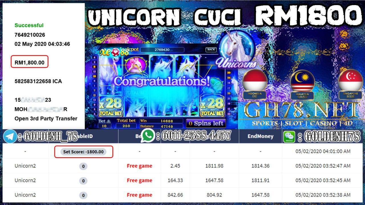 MEMBER MAIN UNICORN CUCI RM1800
