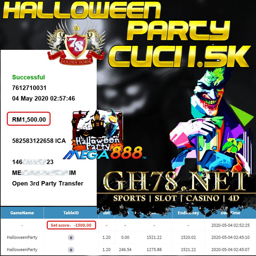 MEMBER MAIN HALLOWEEN PARTY CUCI 1.5K