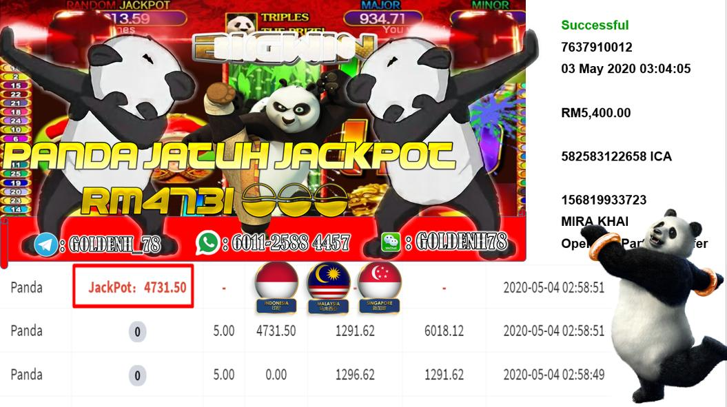 MEMBER MAIN PANDA CUCI RM5400