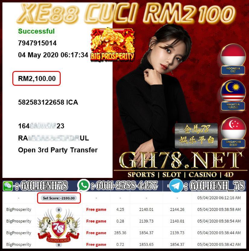 MEMBER MAIN XE88 CUCI RM2100
