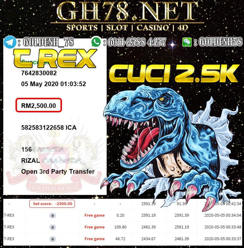 MEMBER MAIN T REX CUCI RM2500