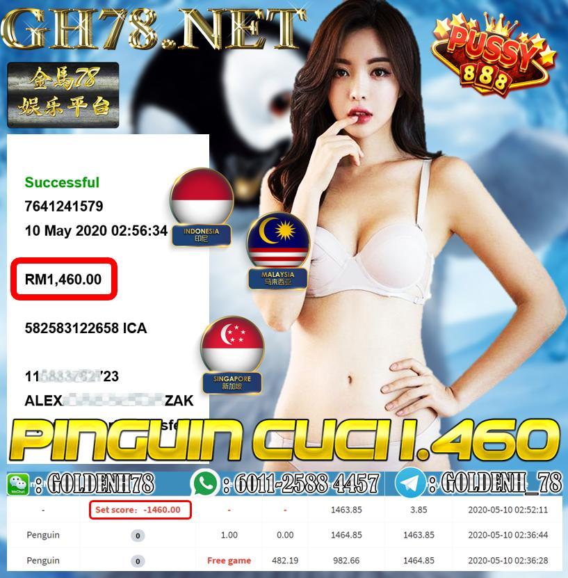 MEMBER MAIN PINGUIN MENANG RM1460