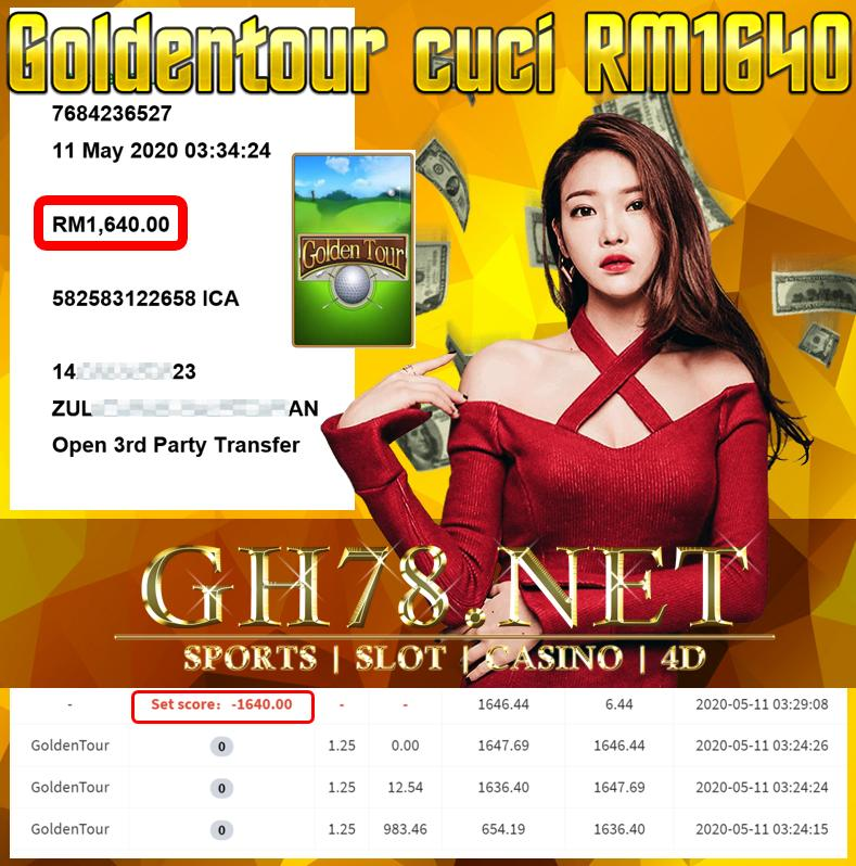MEMBER MAIN GOLDENTOUR CUCI RM1640