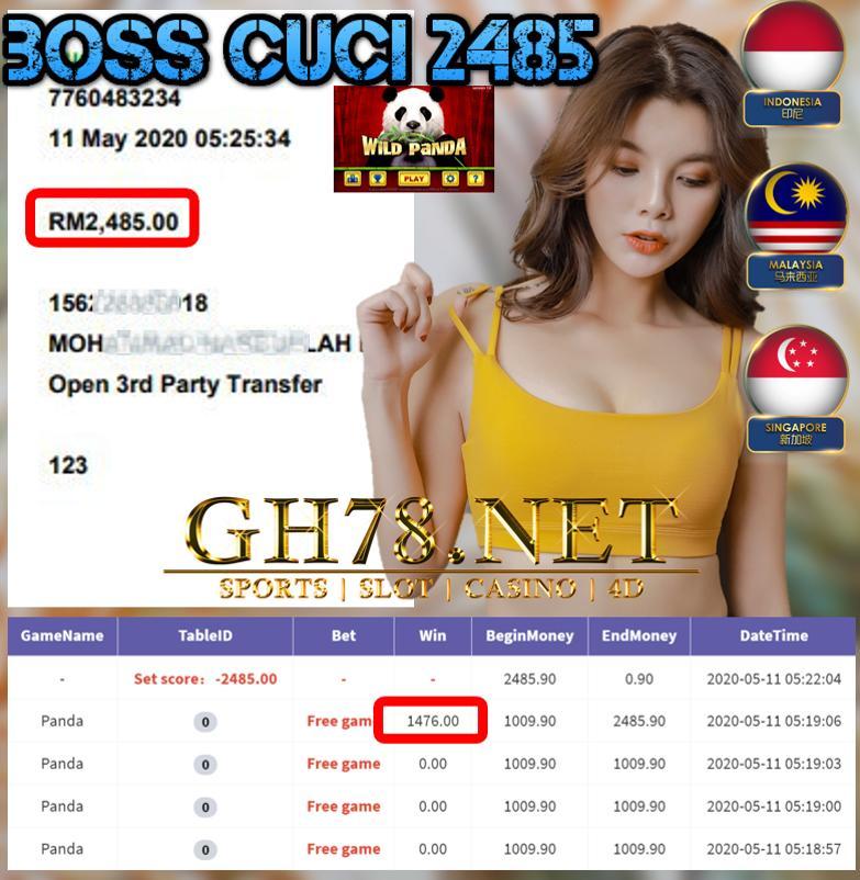 MEMBER MAIN PANDA CUCI RM2485