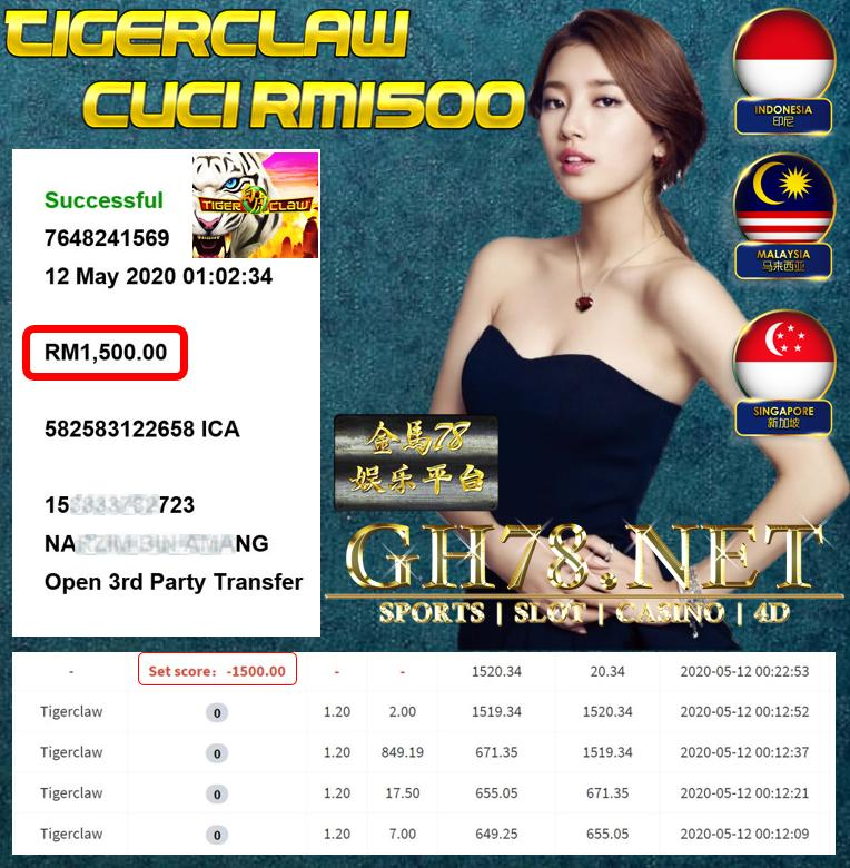 MEMBER MAIN TIGERCLAW CUCI RM1500 !!