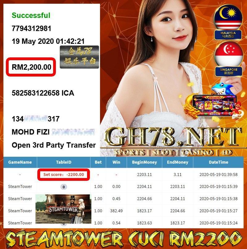 MEMBER MAIN STEAMTOWER CUCI RM2200 !!!