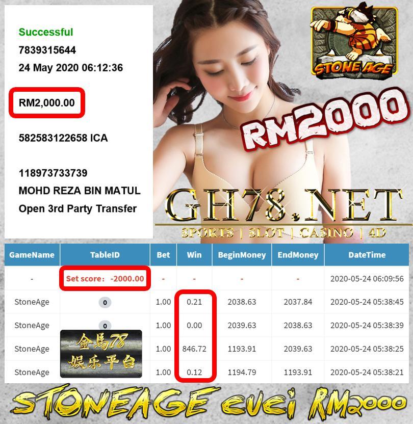 MEMBER MAIN STONEAGE RM2000