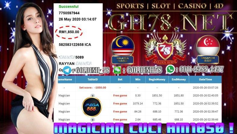 MMBER MAIN MAGICIAN CUCI RM1850 !!