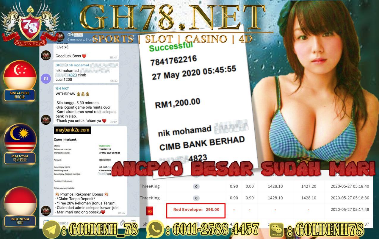 MEMBER MAIN THREEKING CUCI RM1200