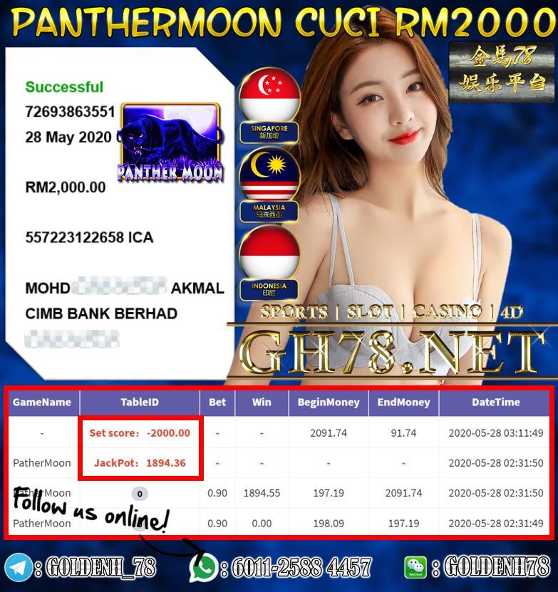 MEMBER MAIN PANTHERMOON CUCI RM2000