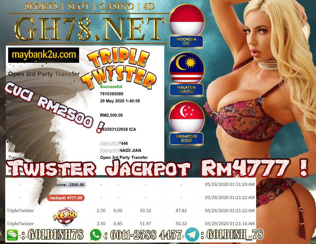 MEMBER MAIN TWISTER MAIN RM2500
