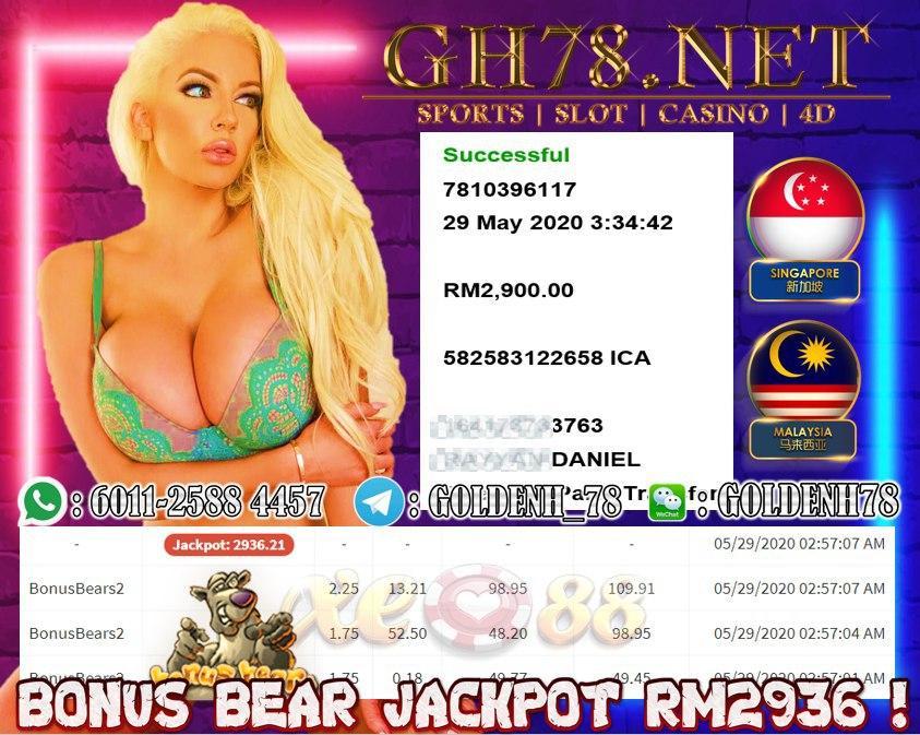 MEMBER MAIN BONUS BEAR CUCI RM2900
