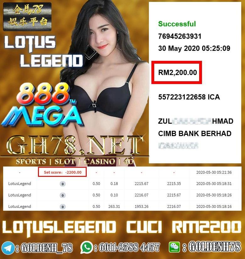 MEMBER MAIN LOTUSLEGEND CUCI RM2200