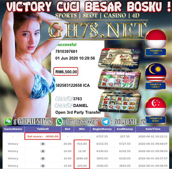 918KISS CUSTOMER MAIN VICTORY MINTA CUCI RM6500!!