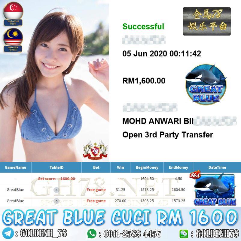 MEMBER MAIN GREATBLUE CUCI RM1600
