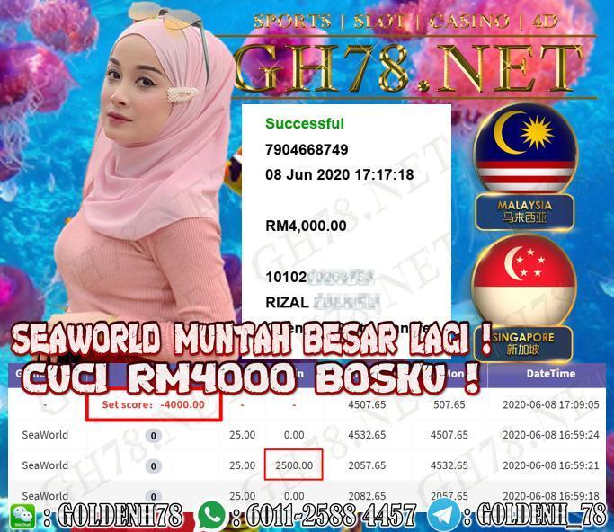 MEMBER MAIN SEAWORLD CUCI RM4000