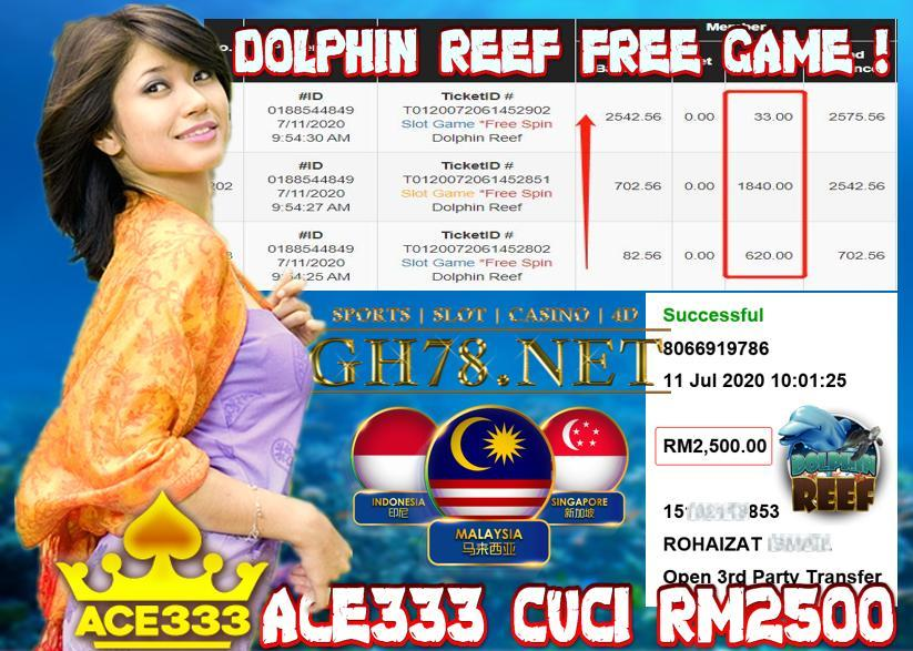 ACE333 DOLPHINE REEF CUCI RM2500