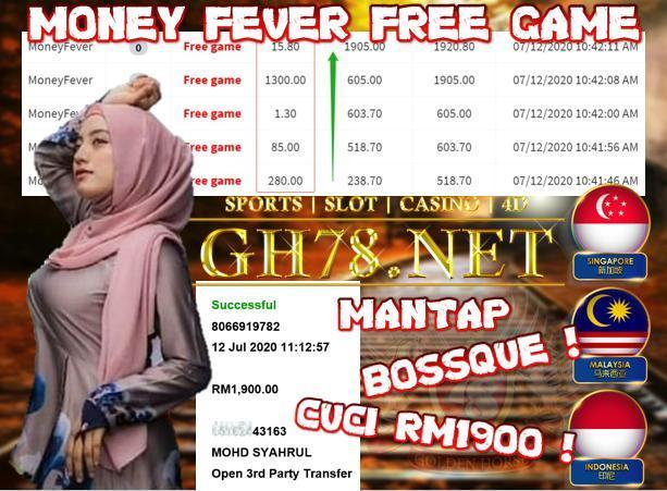 KISS2 , MONEY FEVER FREE GAMES , CUCI RM1900