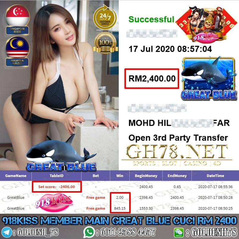 918KISS MEMBER MAIN GREATBLUE CUCI RM2400