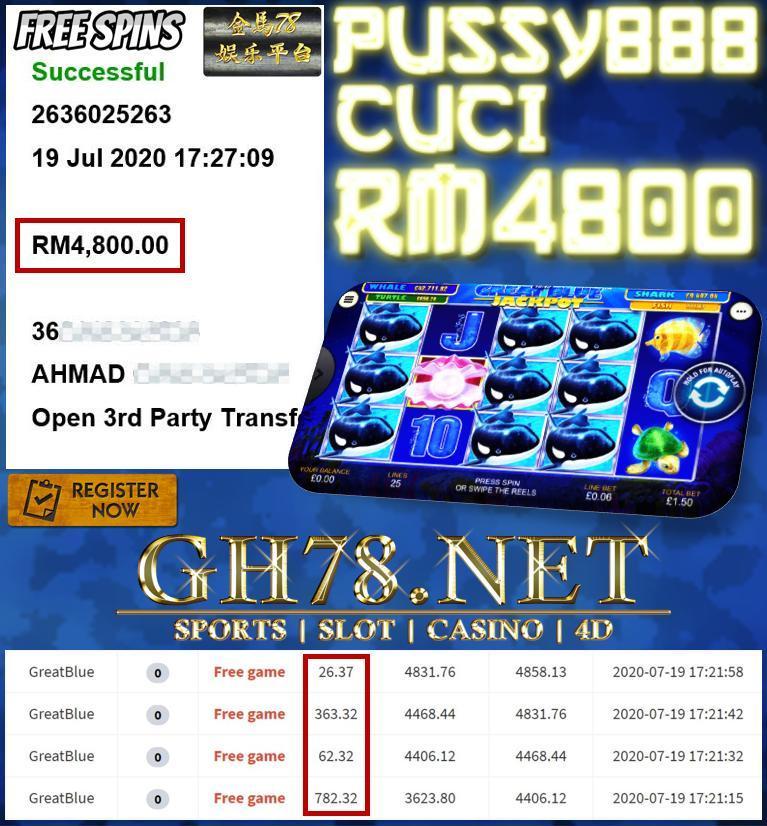 MEMBER MAIN GREATBLUE CUCI RM4800
