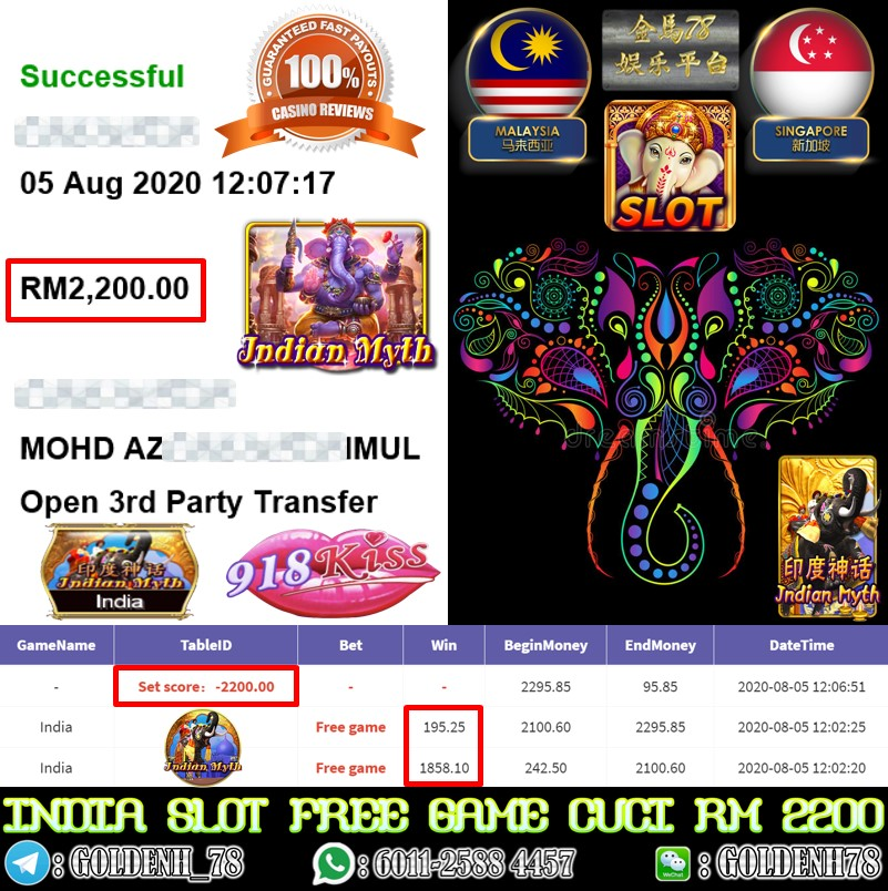 918KISS MEMBER MAIN INDIA KENA FREE GAME CUCI RM2200