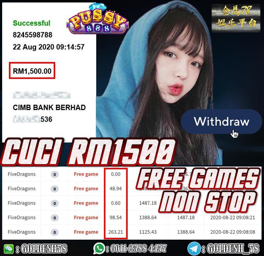 MEMBER MAIN PUSSY888 CUCI RM1500