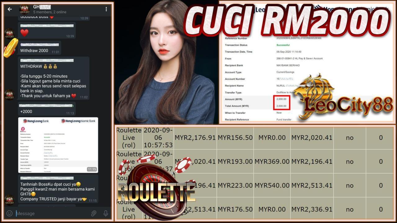MEMBER MAIN LEOCITY CUCI RM2000