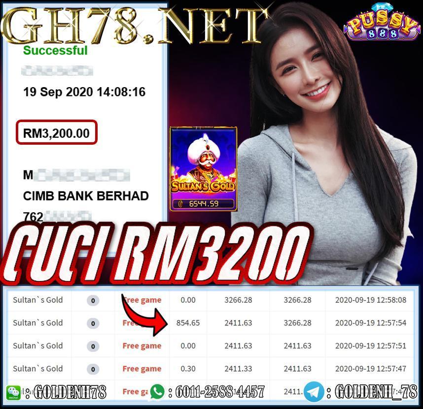 MEMBER MAIN PUSSY888 CUCI RM3200