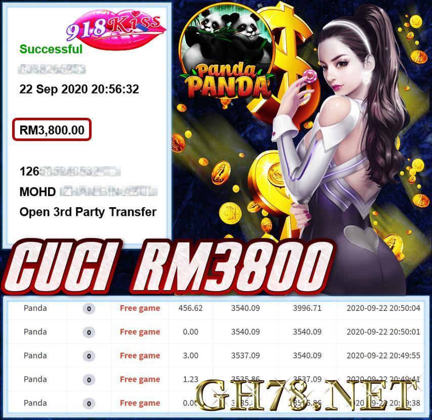 MEMBER MAIN 918KISS CUCI RM2800