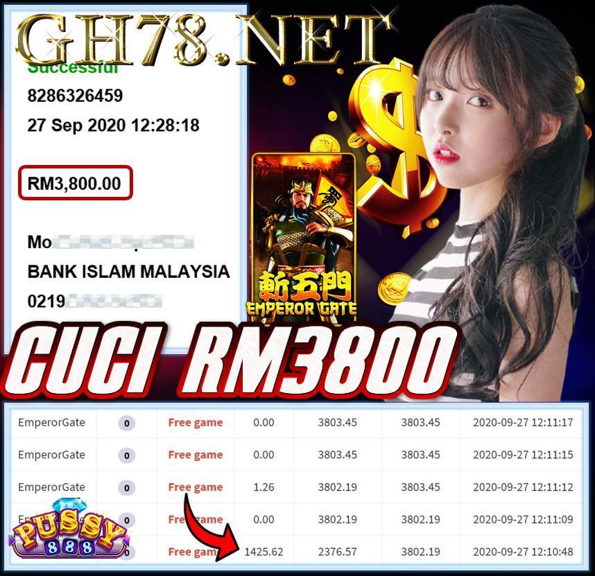 MEMBER MAIN PUSSY888 CUCI RM3800