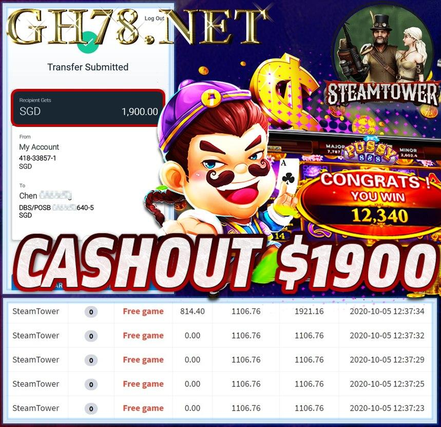 MEMBER PLAY PUSSY888 CASHOUT $1900