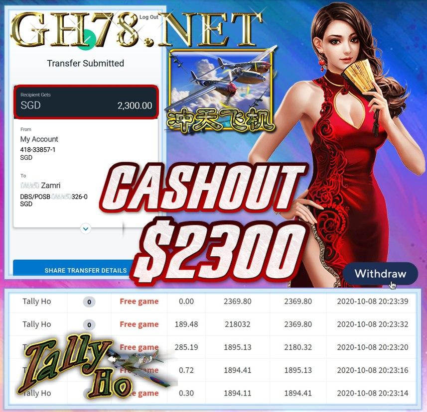 MEMBER PLAY PUSSY888 CASHOT $2300