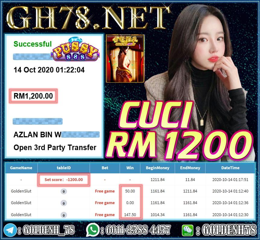 MEMBER MAIN PUSY888 CUCI RM1200