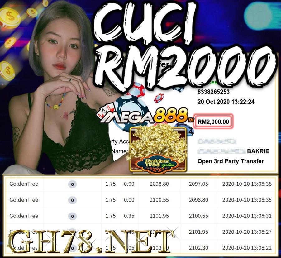 MEMBER MAIN MEGA888 CUCI RM2000