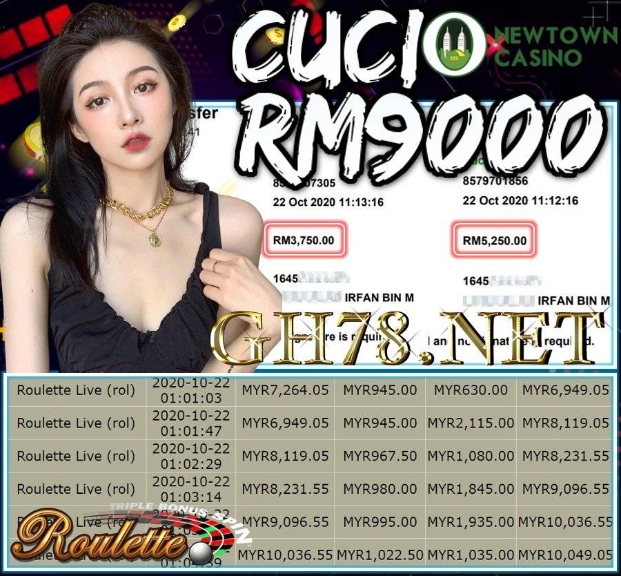 MEMBER MAIN LEOCITY ROULETEE CUCI RM9000