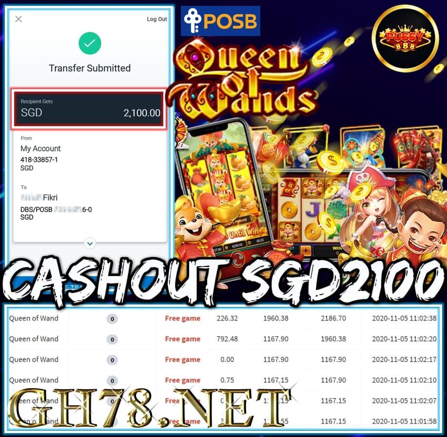 MEMBER PLAY PUSSY888 SGD2100