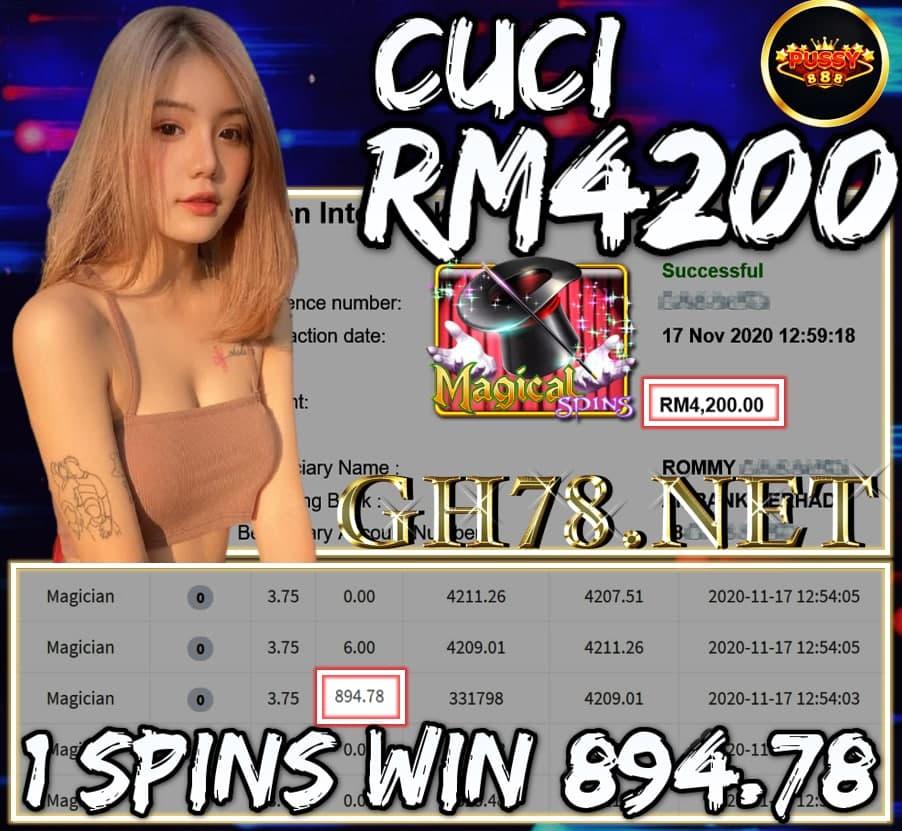 MEMBER MAIN PUSSY888 CUCI RM4200 !!!