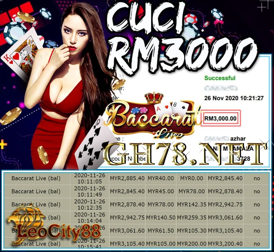 MEMBER MAIN LEOCITY CUCI RM3000 !!