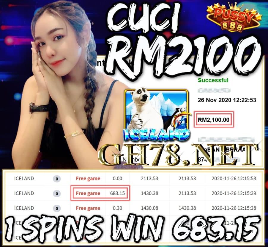 MEMBER MAIN PUSSY888 CUCI RM2100 !!!