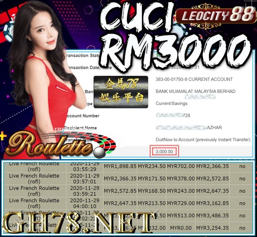 MEMBER MAIN LEOCITY CUCI RM3000 !!!