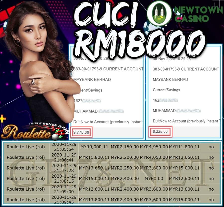 MEMBER MAIN NEWTOWN CUCI RM18000 !!!