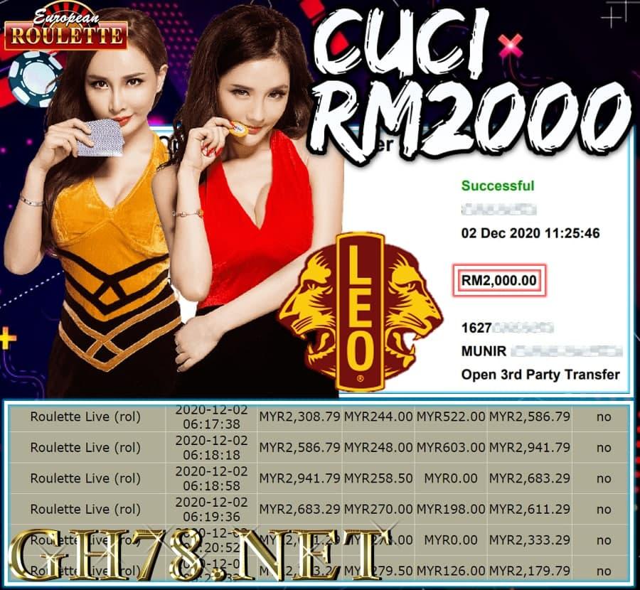 MEMBER MAIN LEOCITY CUCI RM2000!!!