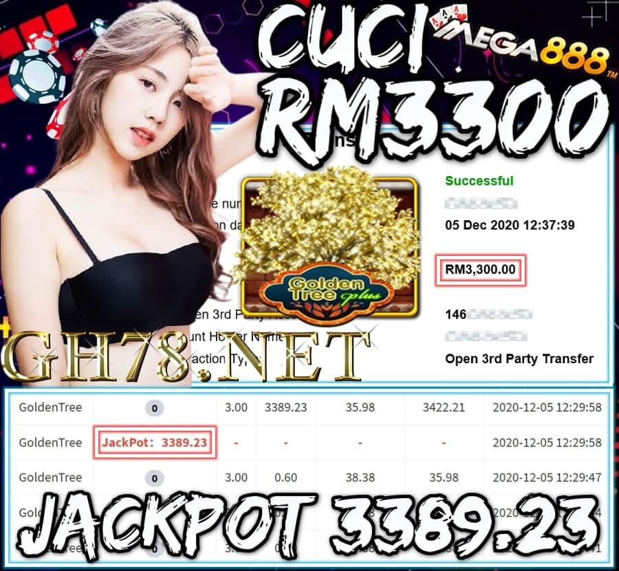 MEMBER MAIN MEGA888 CUCI RM3300 !!!