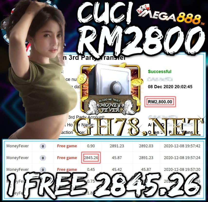 MEMBER MAIN MEGA888 CUCI RM2800 !!!