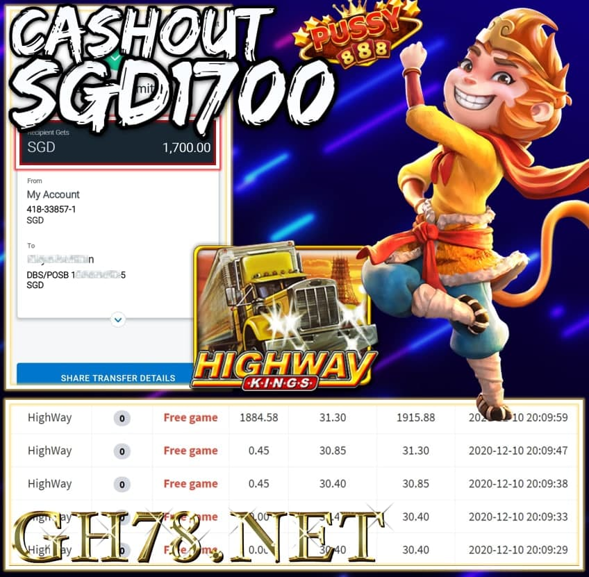 MEMBER PLAY PUSSY888 CASHOUT $1700 !!