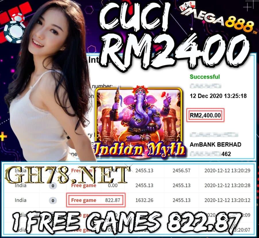 MEMBER MAIN MEGA8888 CUCI RM2400 !!!