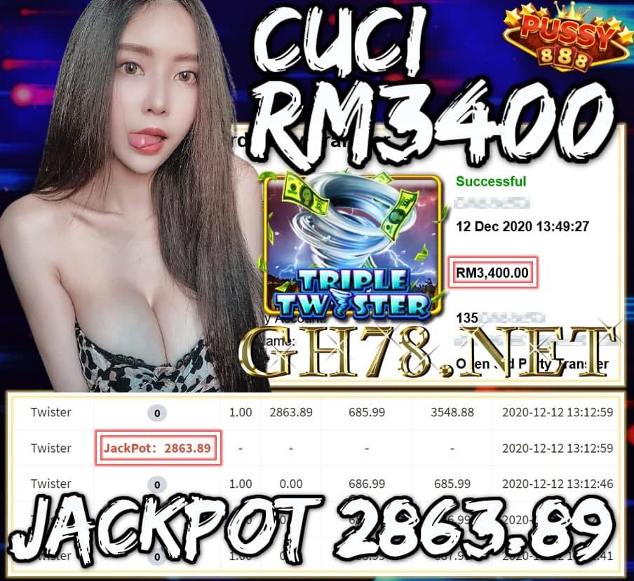 MEMBER MAIN PUSSY888 CUCI RM3400 !!!